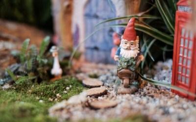 Fairy House Garden