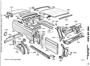 65 Mercury Comet Parts  Wiring Diagram And Fuse Box