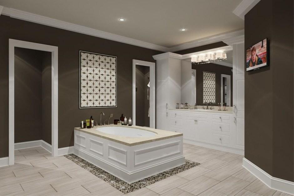 fancy bathrooms