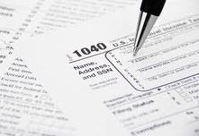 Tax form photo from www.seniorliving.org