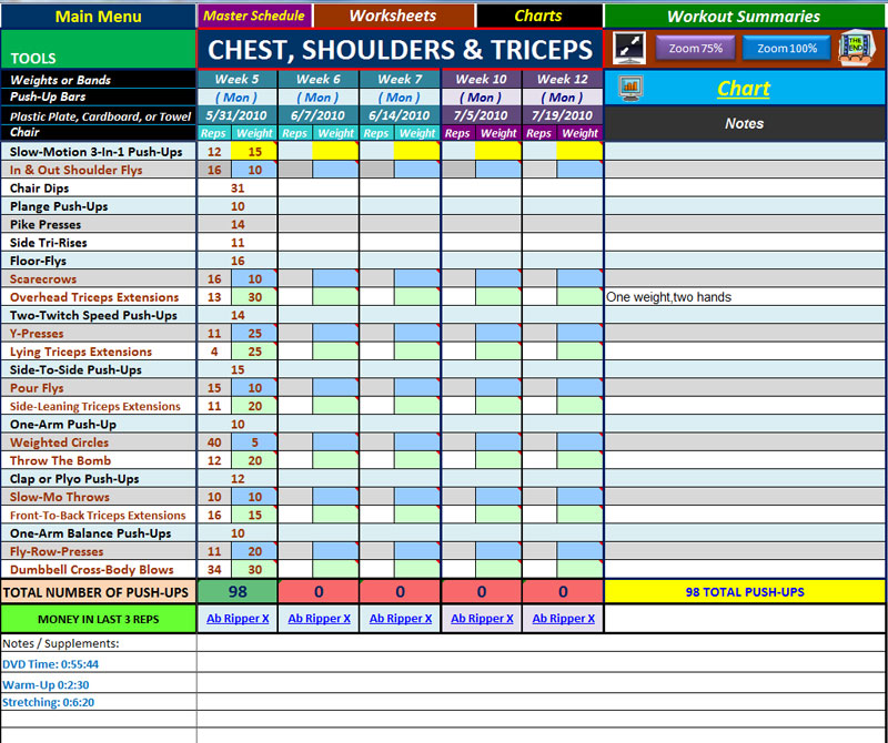 chest shoulders and triceps Archives - Fairly Fit