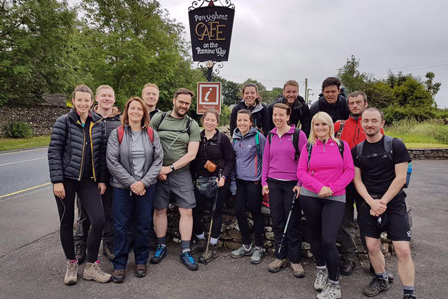 Kate's Three Peaks Challenge
