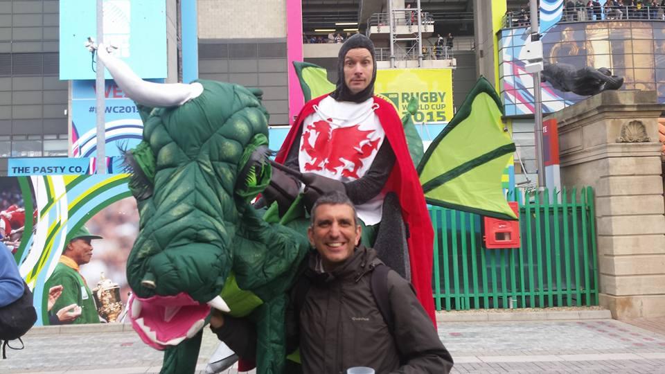 Entre Dragões e Rugby (Foto: Facebook da Alqateia do Luxemburgo)