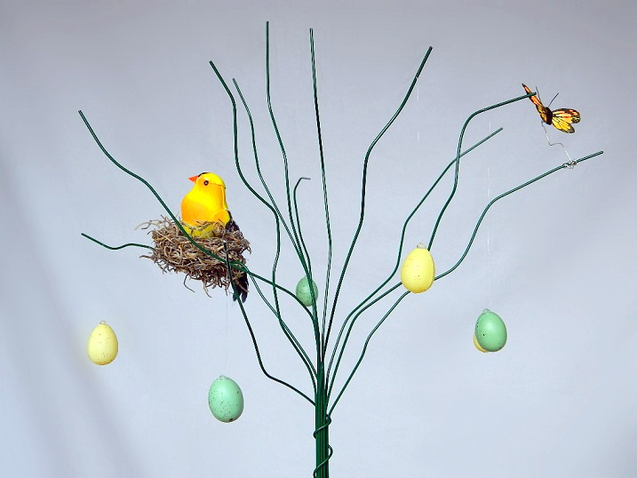 Tattooed Martha - DIY Easter Tree (15)