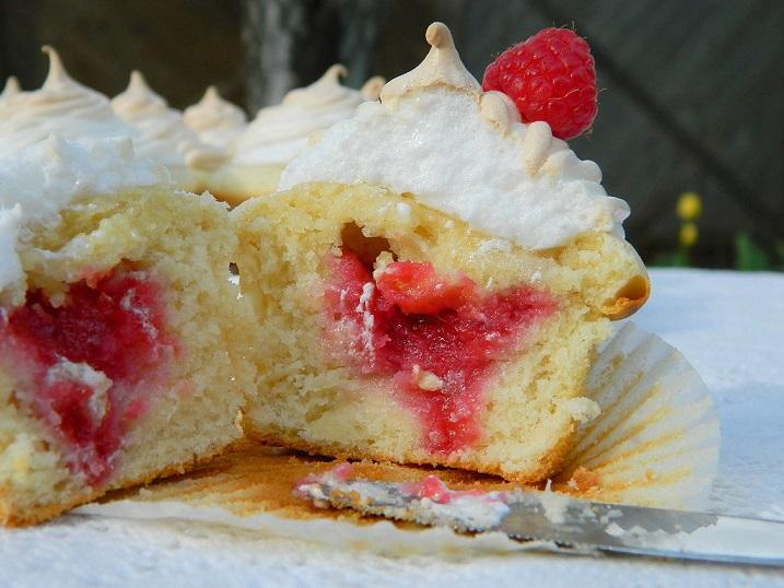 Tattooed Martha - Raspberry Filled Vanilla Cupcakes (28)