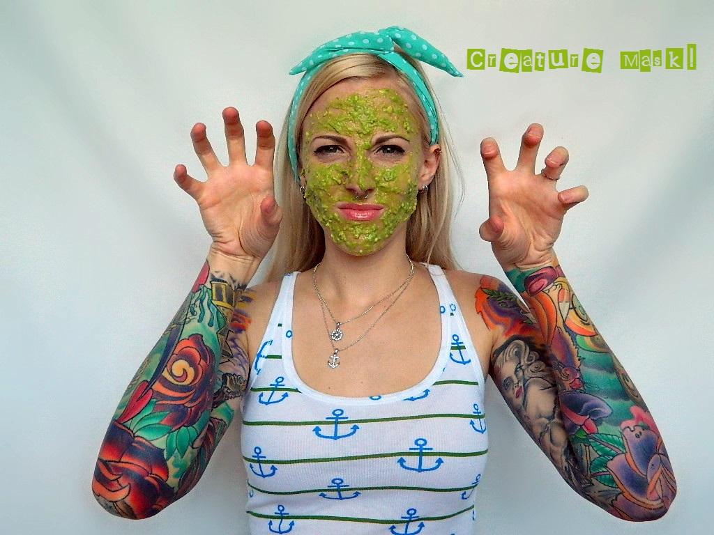 Tattooed Martha - Avocado and Egg White Face Mask (6)