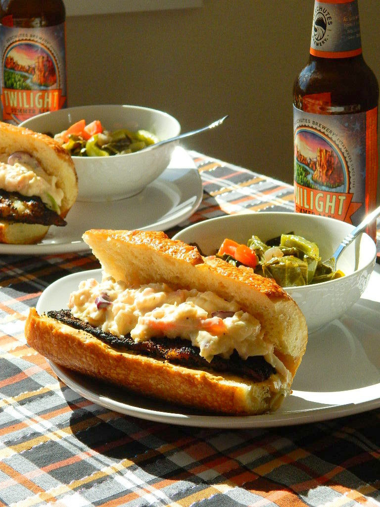 Tattooed Martha - Blackened Cajun Tilapia Po-Boys with Remoulade (6)