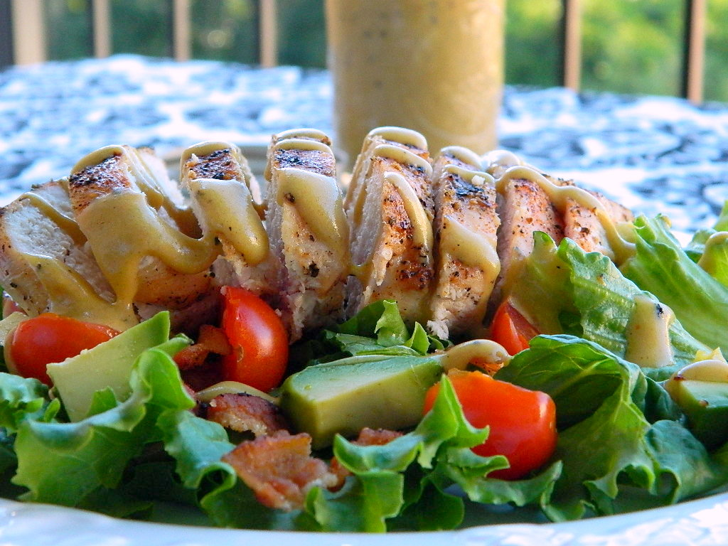Tattooed Martha - Grilled Chicken Salad with Tangy Honey Mustard Dressing (10)