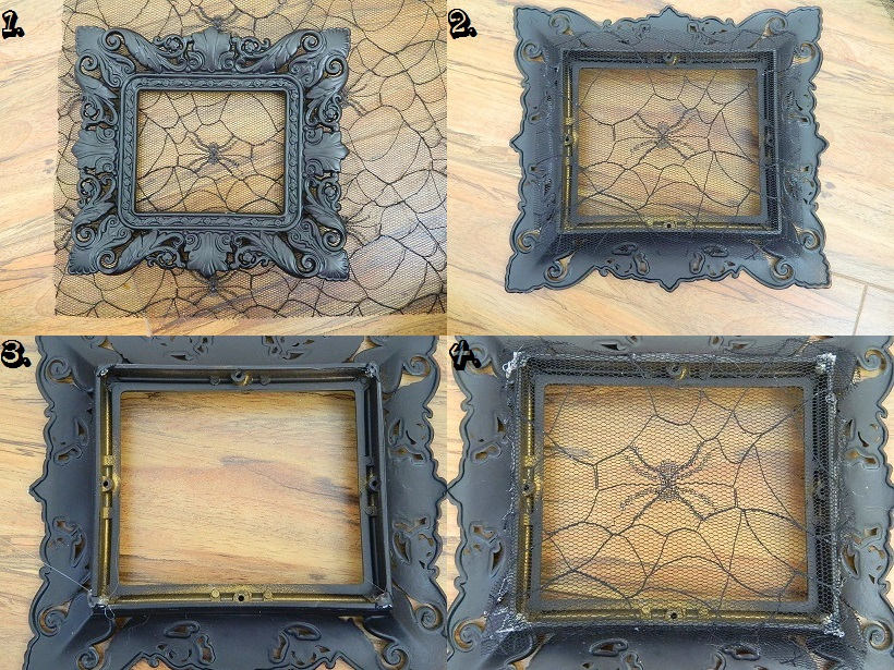 Tattooed Martha - Lace Picture Frame Holder (2)