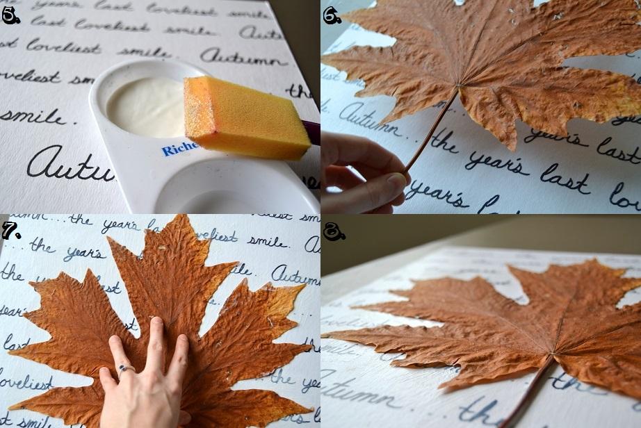 Tattooed Martha - Autumn Leaf Wall Art (6)