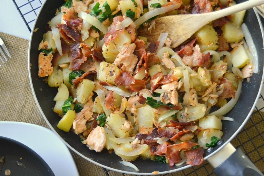 Tattooed Martha - Salmon, Bacon, & Potato Hash (4)