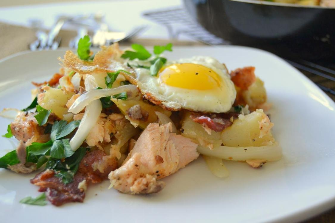 Tattooed Martha - Salmon, Bacon, & Potato Hash (7)