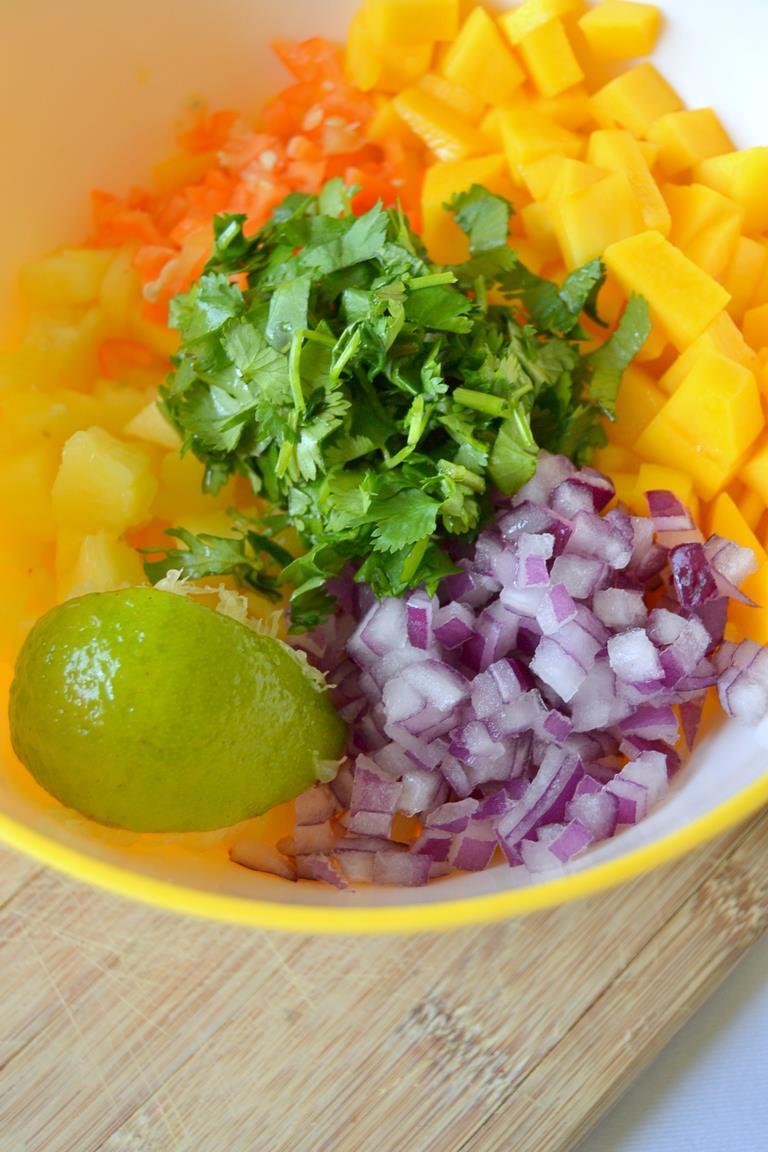 Tattooed Martha - Mini Fish Tacos with Mango Habanero Salsa (3)