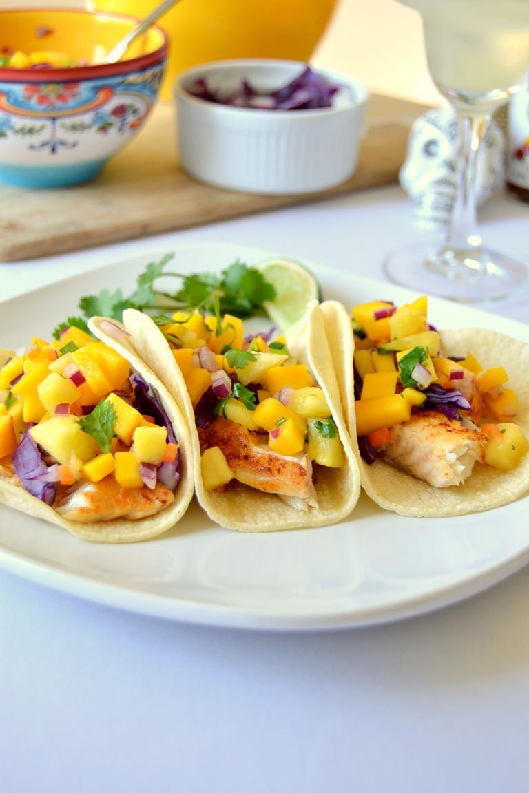 Tattooed Martha - Mini Fish Tacos with Mango Habanero Salsa (9)
