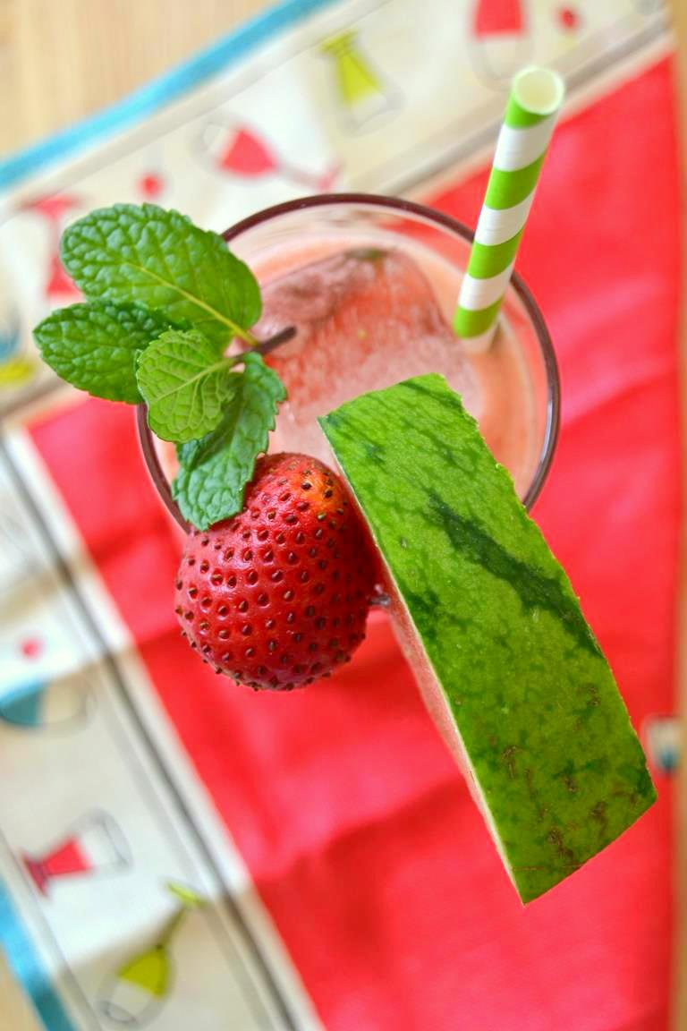 Strawberry Watermelon Mint Cooler