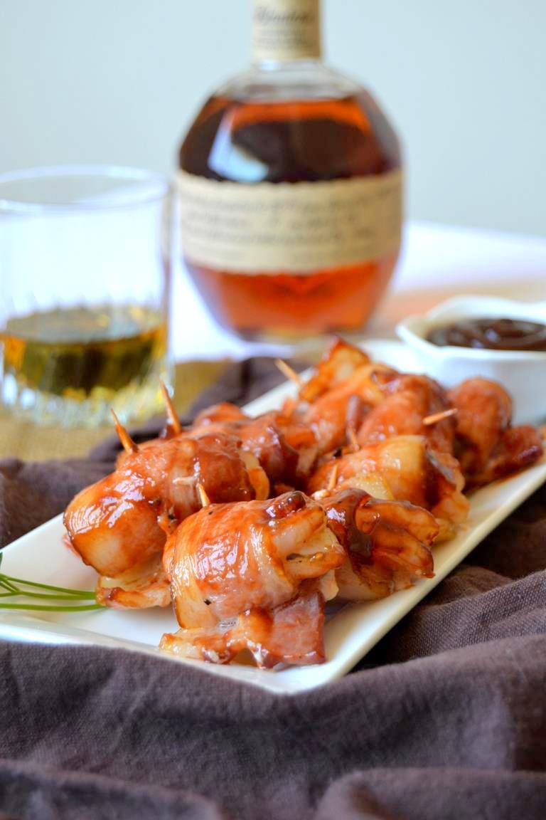 Tattooed Martha - Bourbon & BBQ Bacon Wrapped Shrimp (5)