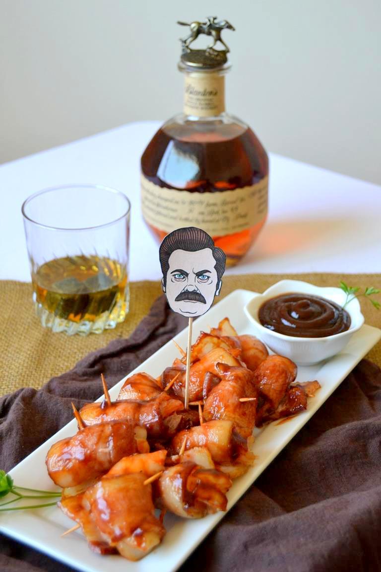Tattooed Martha - Bourbon & BBQ Bacon Wrapped Shrimp (6)