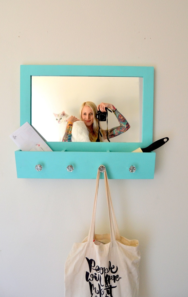 Tattooed Martha - Entryway Mirror Makeover (15)