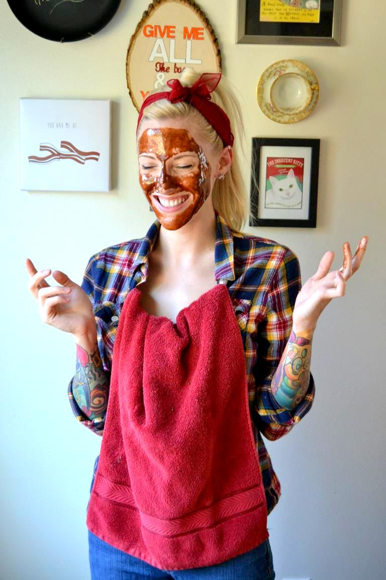 Tattooed Martha - Pumpkin Spice and Honey Face Mask (5)