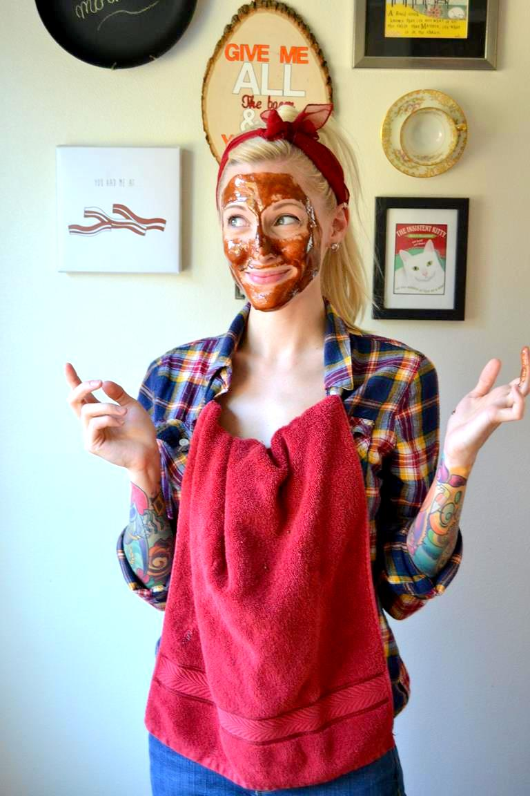 Tattooed Martha - Pumpkin Spice and Honey Face Mask (6)