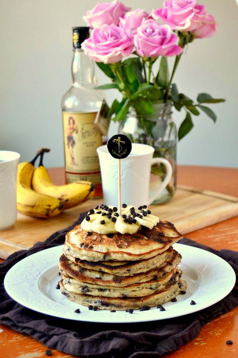 Tattooed Martha - Rum Spiked Chocolate Chip Banana Pancakes (6)