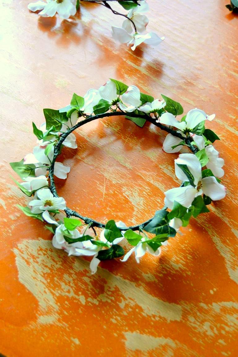 Tattooed Martha - DIY Summer Flower Crown (6)
