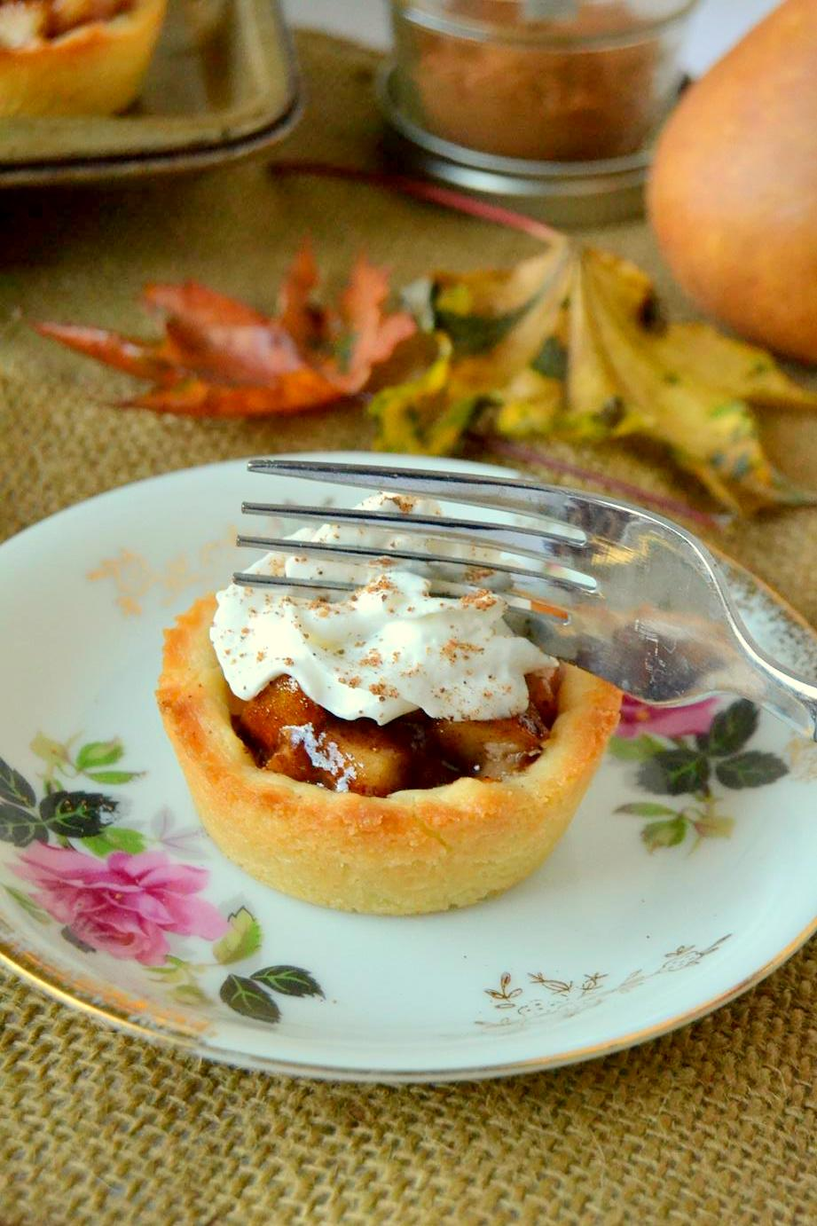 Tattooed Martha - Mini Pear Tarts (10)