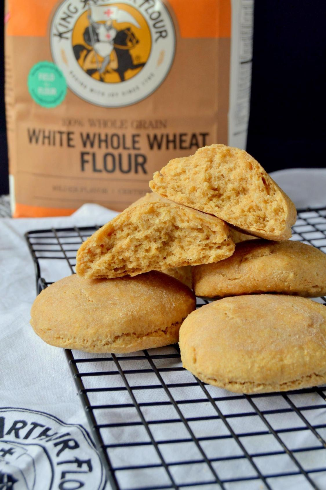 Tattooed Martha - Whole Wheat Biscuits with Almond Milk (7)