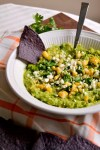 Roasted Mexican Street Corn Guacamole