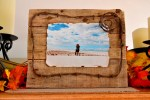 Barbed Wire Pallet Picture Frame