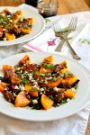 Roasted Beet & Squash Salad with Balsamic Reduction