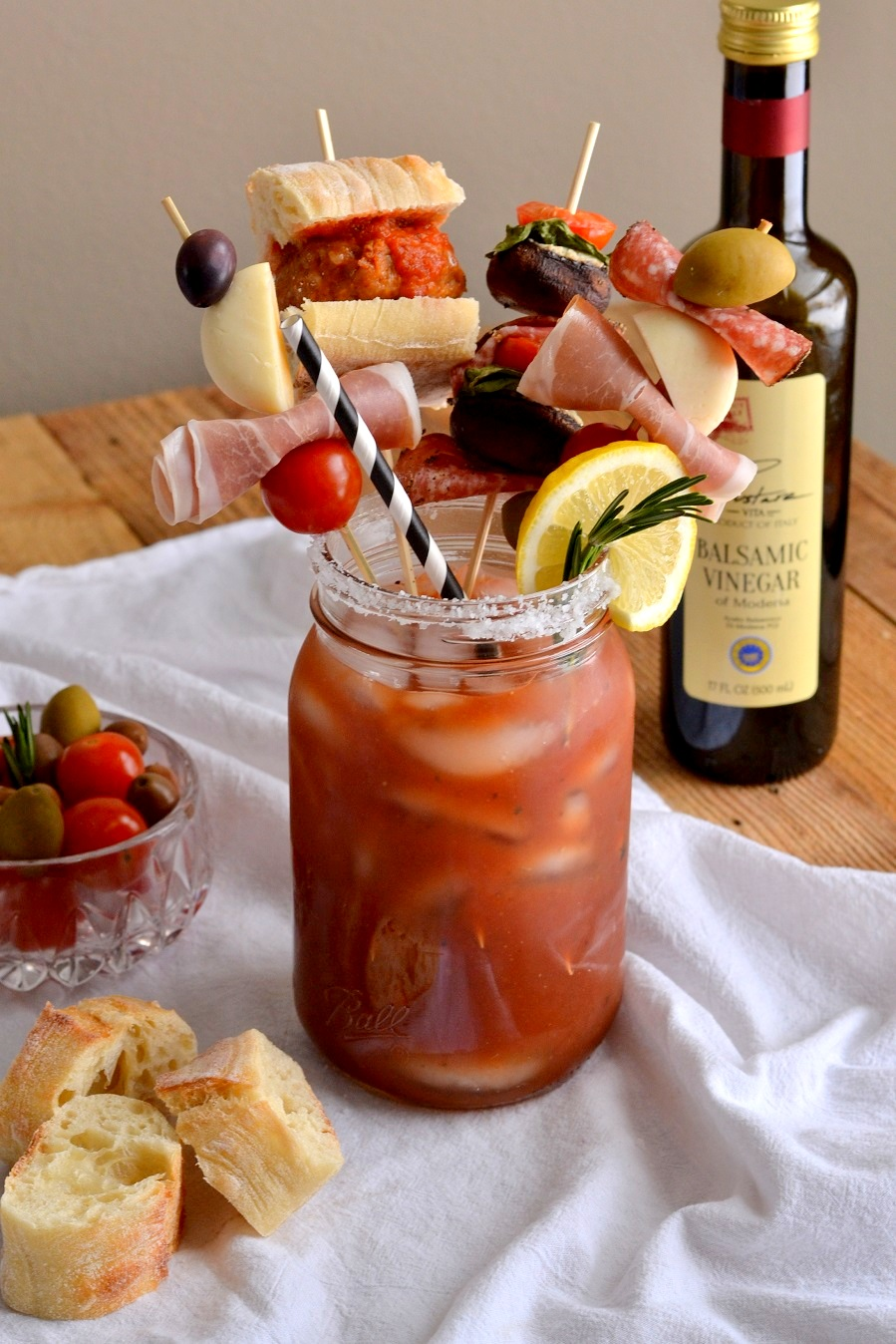 Tattooed Martha - Loaded Italian Bloody Marys