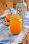 Orange Ginger Turmeric Gin Fizz