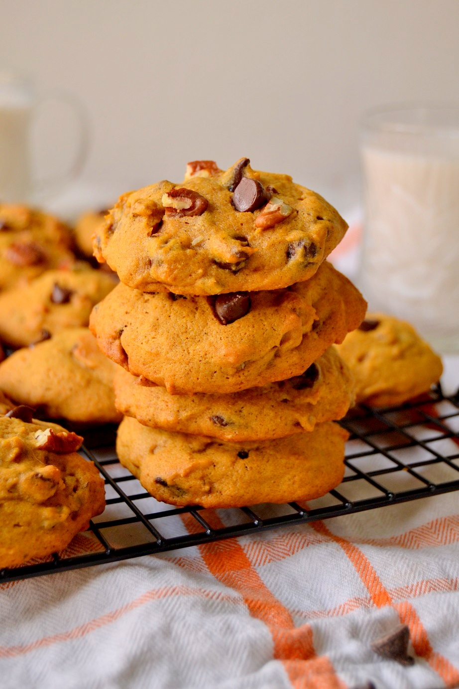 Tattooed Martha - Pumpkin Pecan Chocolate Chip Cookies