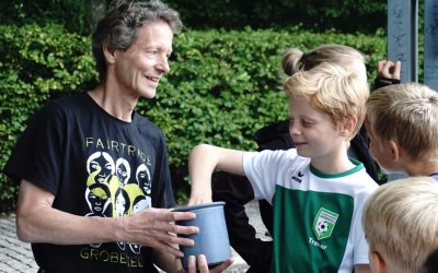 Gröbenzeller Zeugnisfest mit Fairtrade Torwandschießen