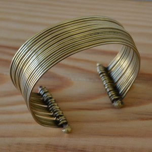 Fair Trade Brass rings cuff JCbr1
