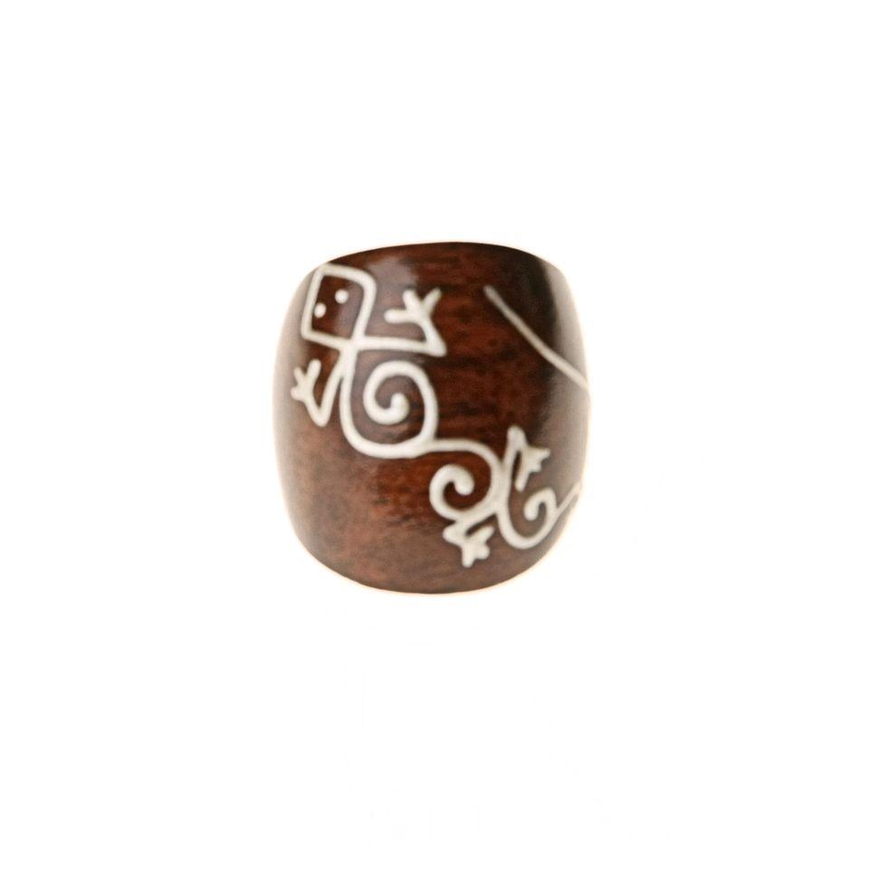 Fair Trade Wooden Gekko Ring 299 Fair Trade Product