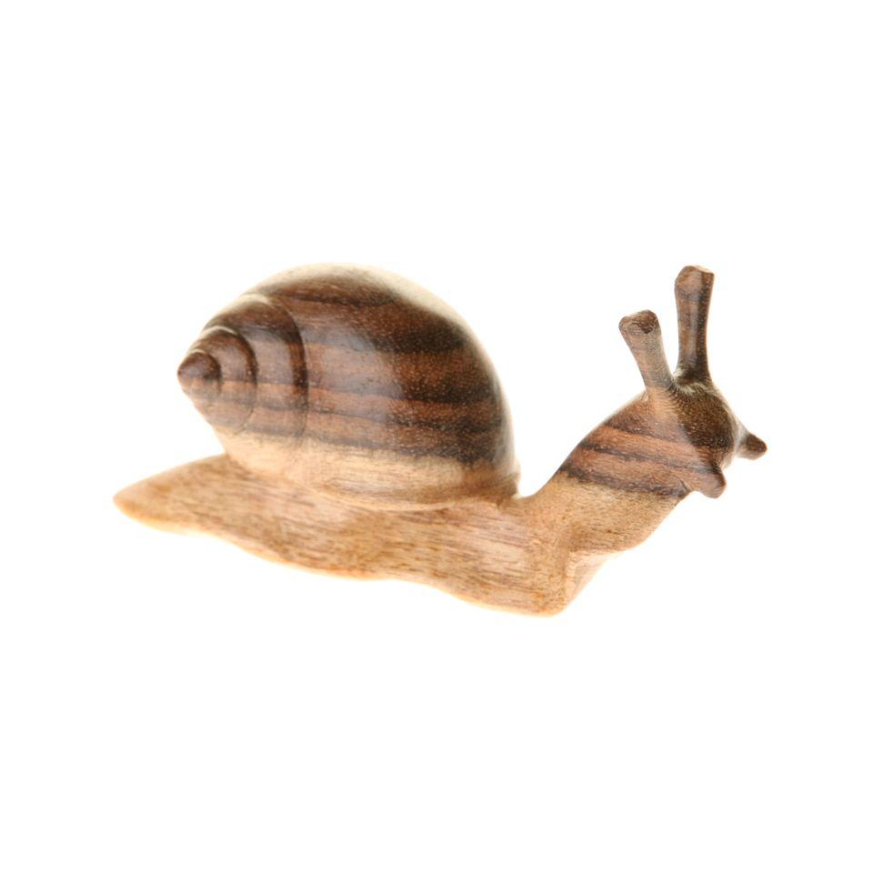 Fair Trade Wooden Snail Looking Up 699 Fair Trade