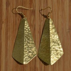 brass earring