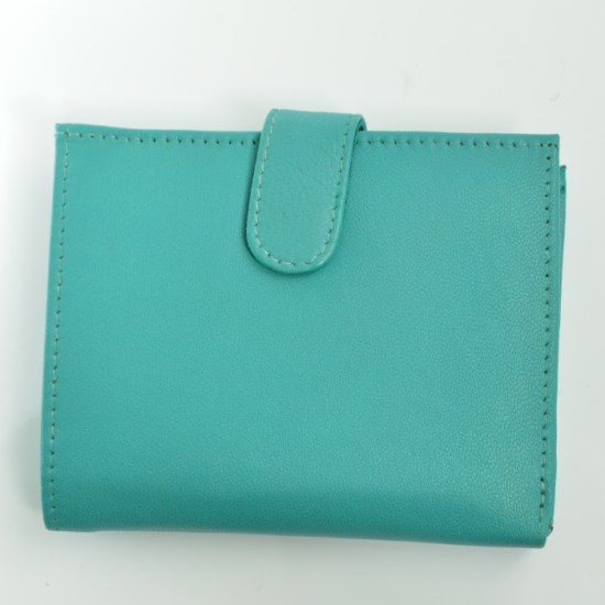 ethical leather purse