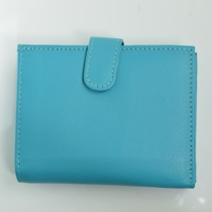 fair trade leather purse