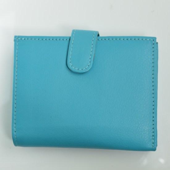 fair trade leather purse