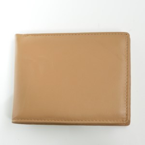 fair trade men's leather wallet