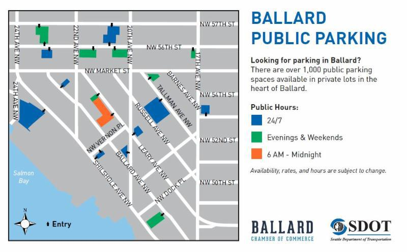 find parking in ballard