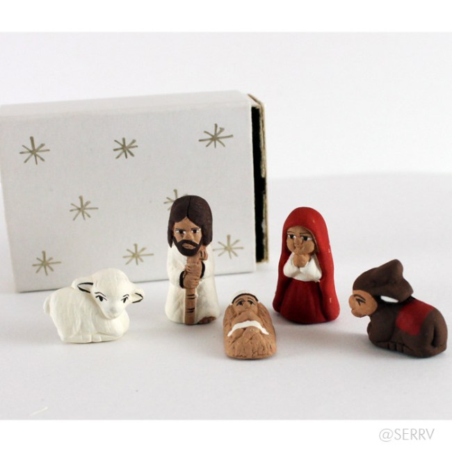 matchbox nativity