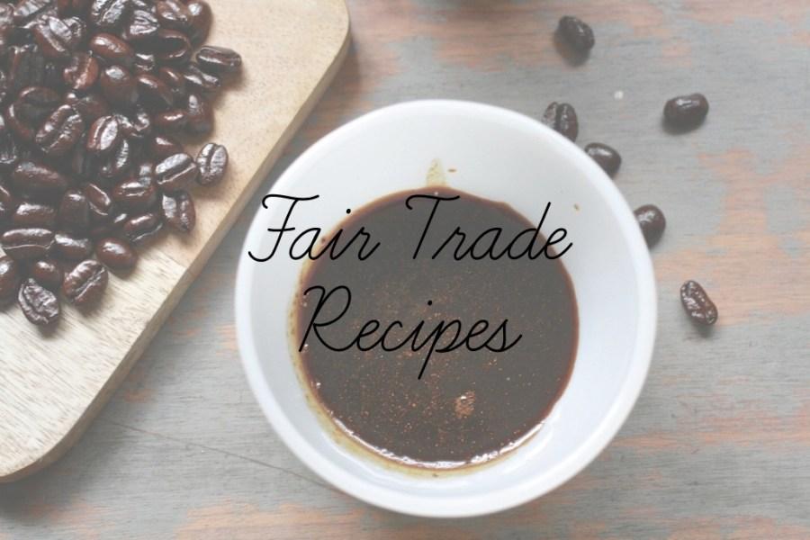 fair trade recipes