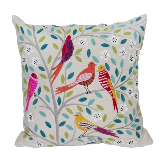 five-birds-pillow embroidered