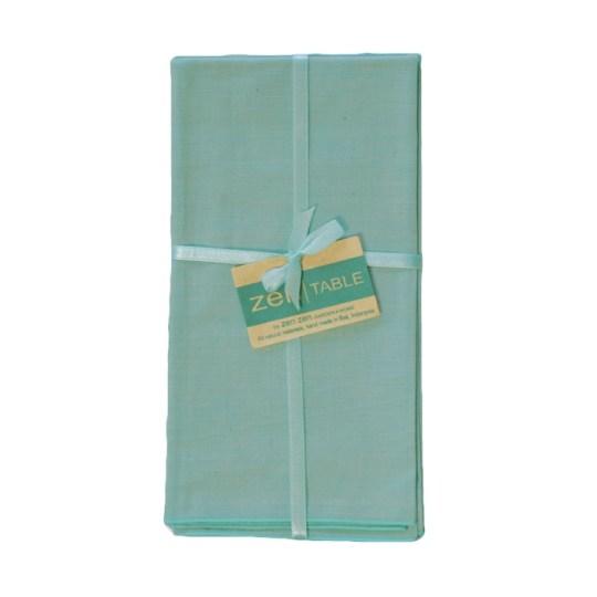 aqua cotton endek napkins