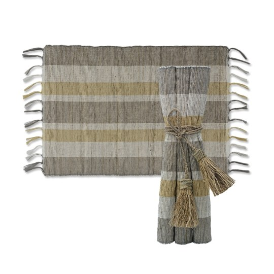 indian summer vetiver placemats