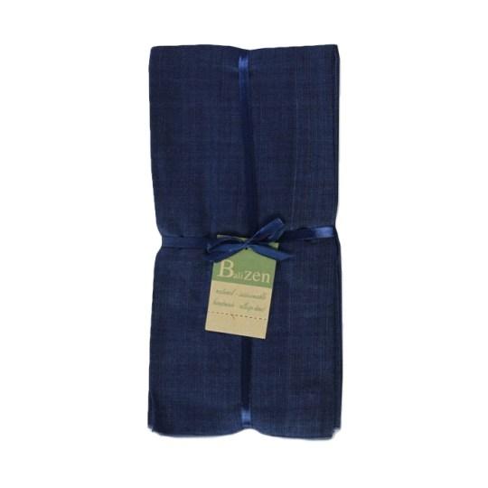 indigo cotton endek napkins